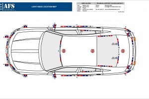 2019 Lighting Location Map Dodge Charger