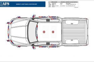 2019 SEries F Lighting Location Map Ford F-150